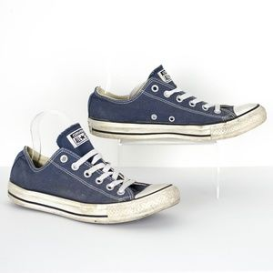 Converse All Star Blue Sneakers Unisex Womens 10 S